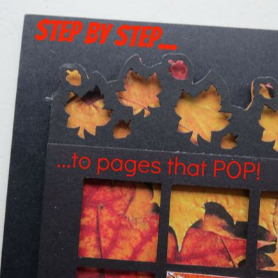 Step by step to pages that POP!